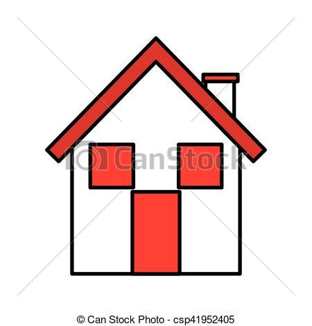 450x470 Home House Silhouette Icon Vector Illustration Design Vector