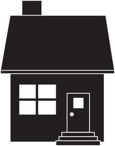 236x300 House Silhouette Clipart