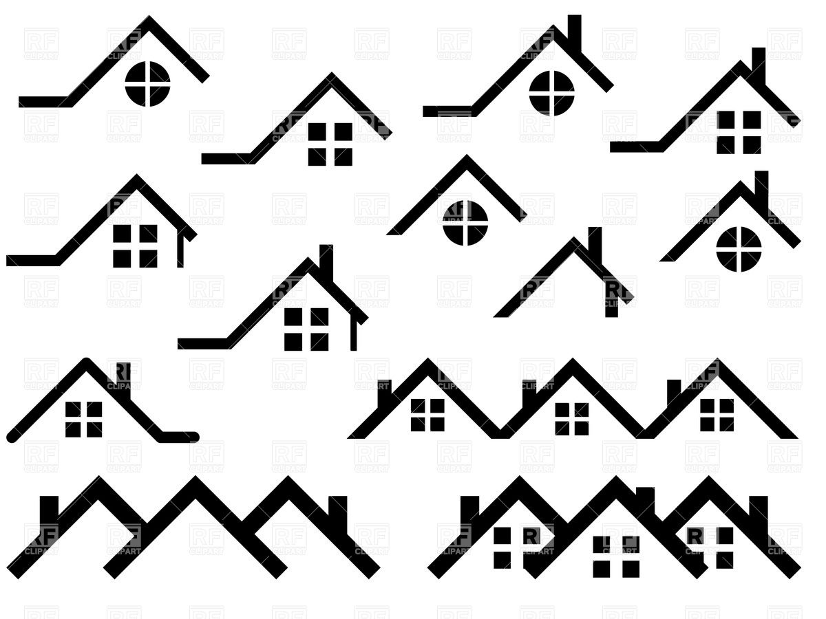1200x900 House Roof Outlines