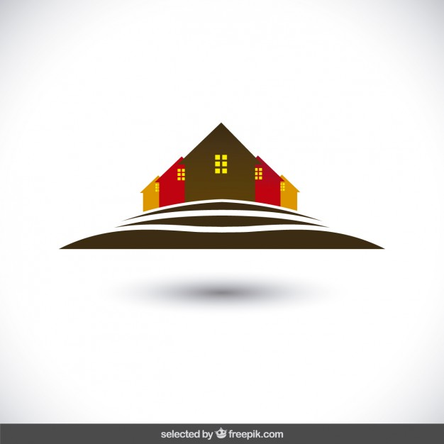 626x626 Houses Silhouettes Logo Free Vectors Ui Download