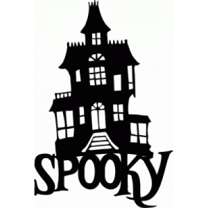 300x300 Silhouette Design Store Spooky Victorian Mansion Cricut