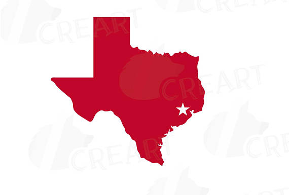 570x385 Houston Clip Art Pack Including Texas Map Ai Eps Svg Png