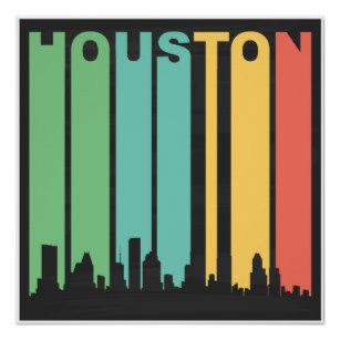 307x307 Houston Skyline Posters Zazzle