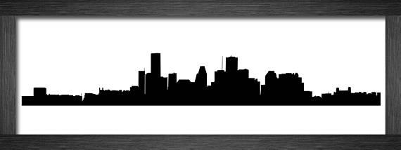 570x214 Houston Skyline Silhouette Houston Skyline Svg Houston Svg Houston