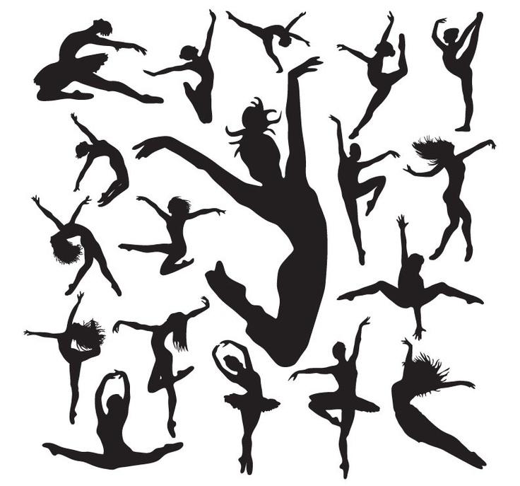 736x687 Dancer Silhouette Free Download Clip Art Free Clip Art