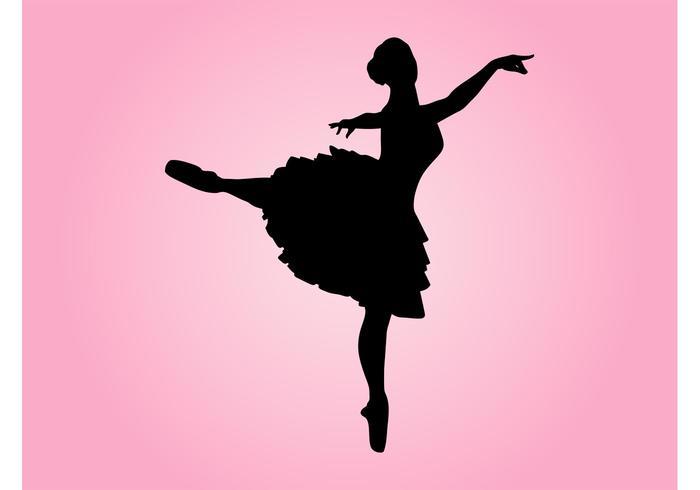 700x490 Dancing Ballerina Silhouette