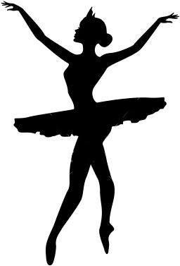 256x377 Festa Bailarina Denenecek Silhouettes