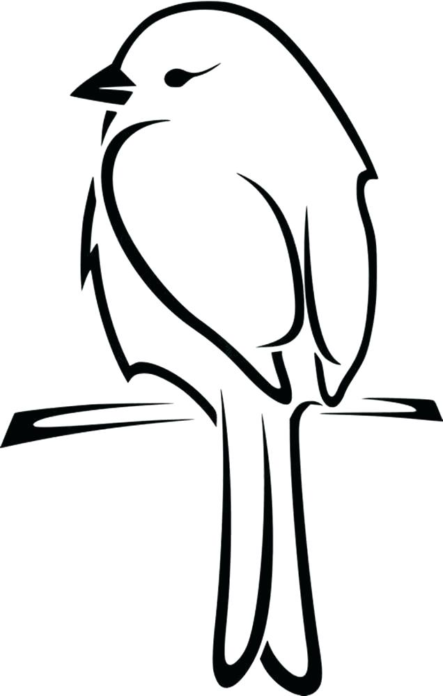 How To Draw A Bird Silhouette at GetDrawings | Free download