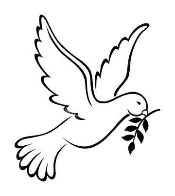 360x402 Wwwtattoosnationcom Bird Tattoos Amazing Outline Flying Dove