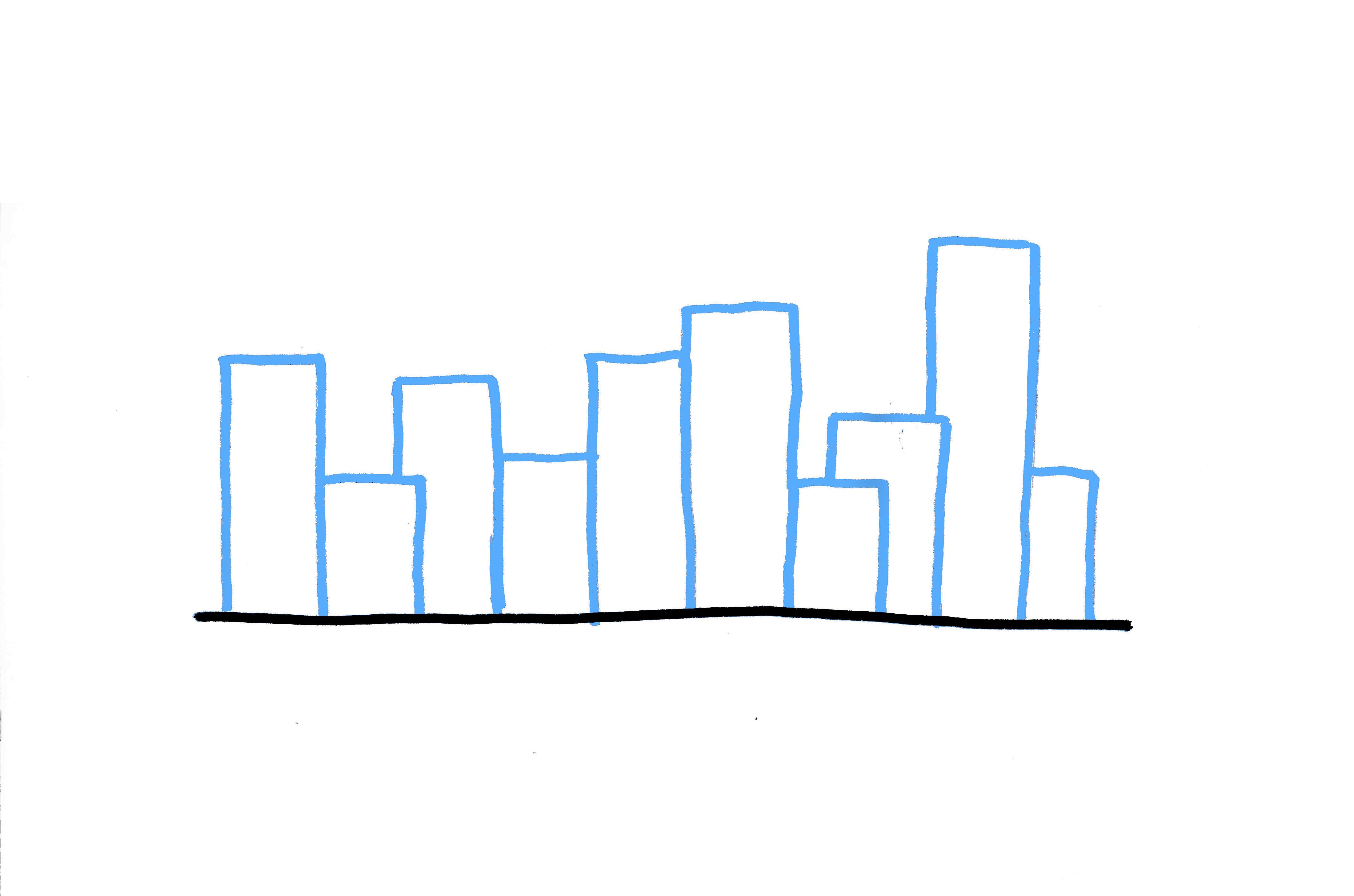 4400x2911 How To Draw A City Skyline 3 Ways