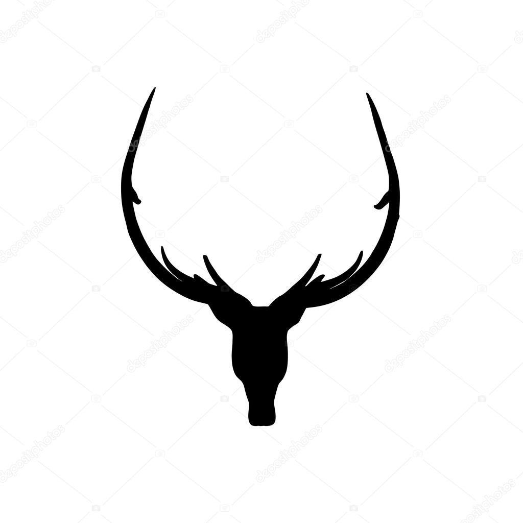 1024x1024 Deer Head Silhouette Clip Art 125281 Brilliant Antlers