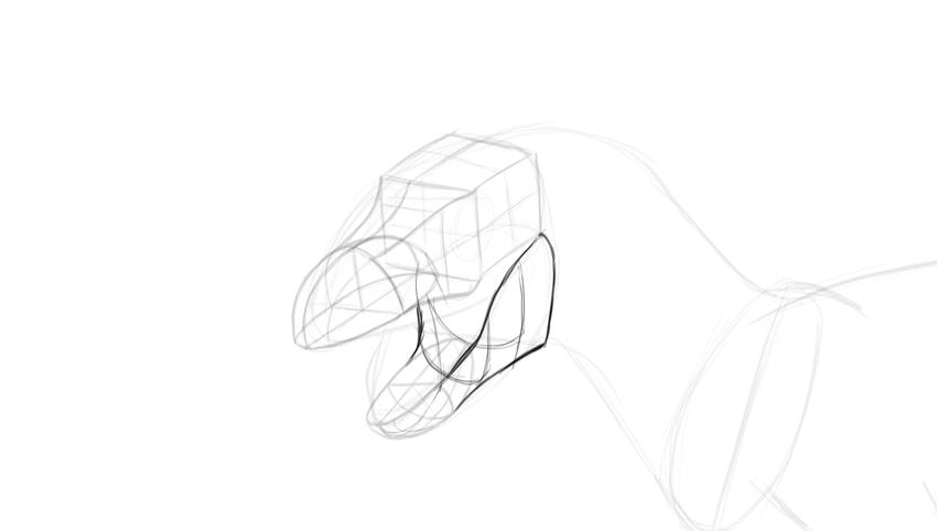 850x482 How To Draw A T Rex Dinosaur