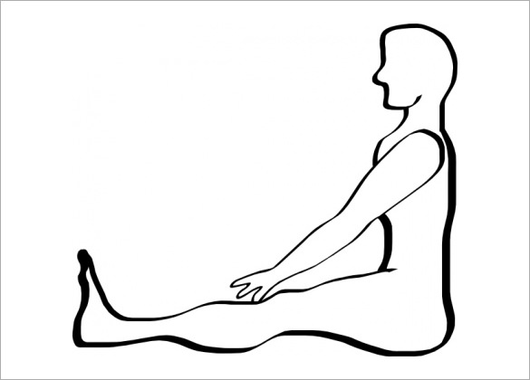 585x420 Human Body Outline Free Sample, Example, Format Download