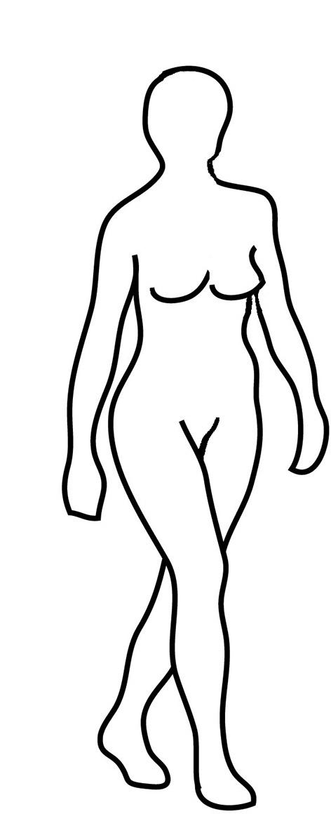 472x1160 Body Silhouettes