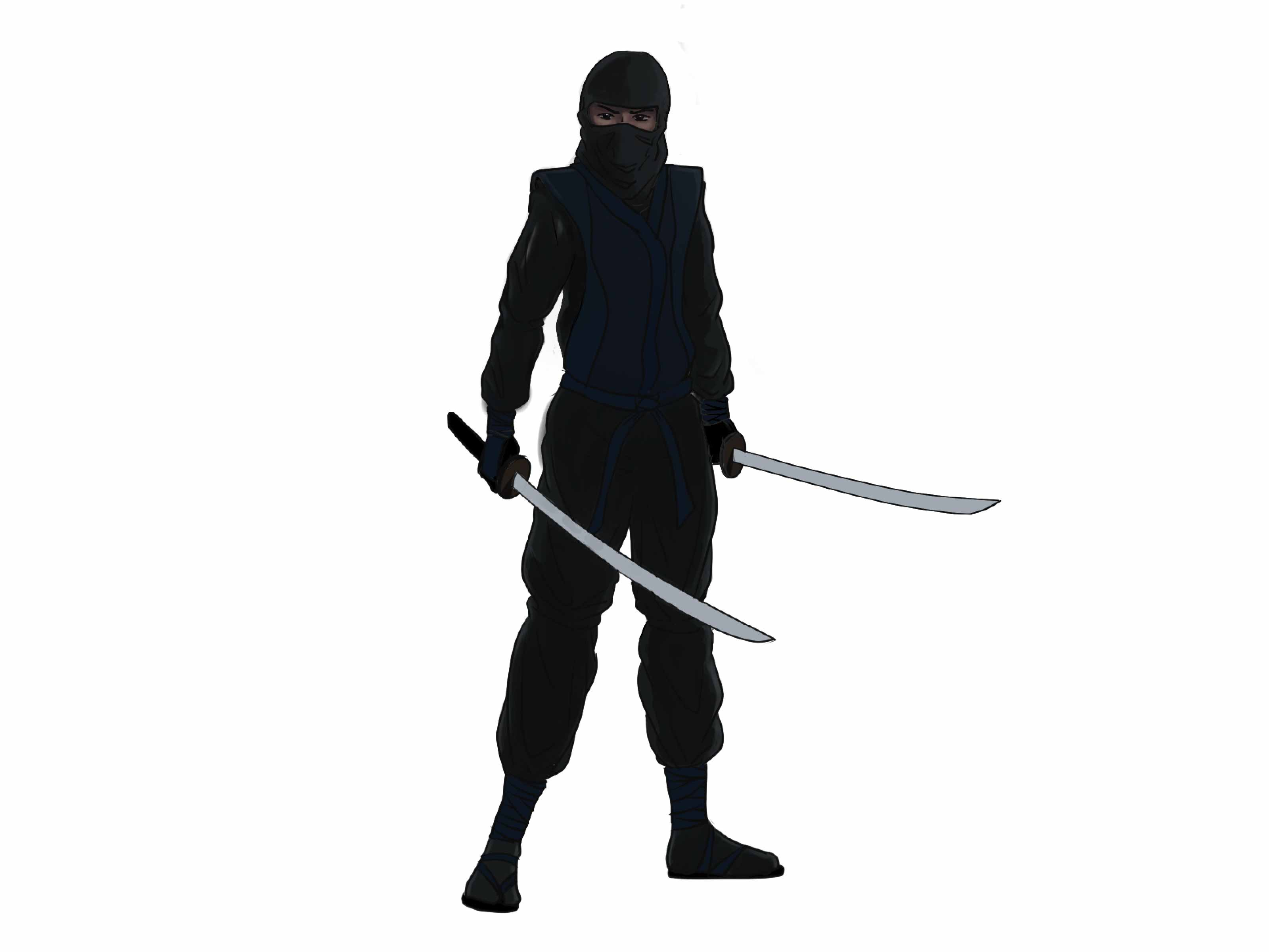 3200x2400 How To Draw A Ninja (With Pictures)