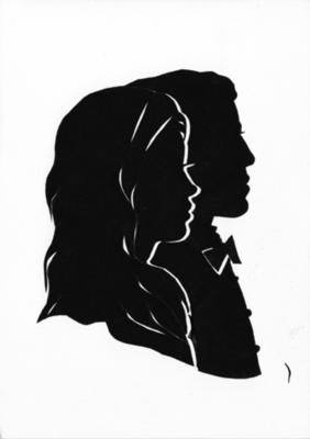 282x400 The History Of Silhouette Art