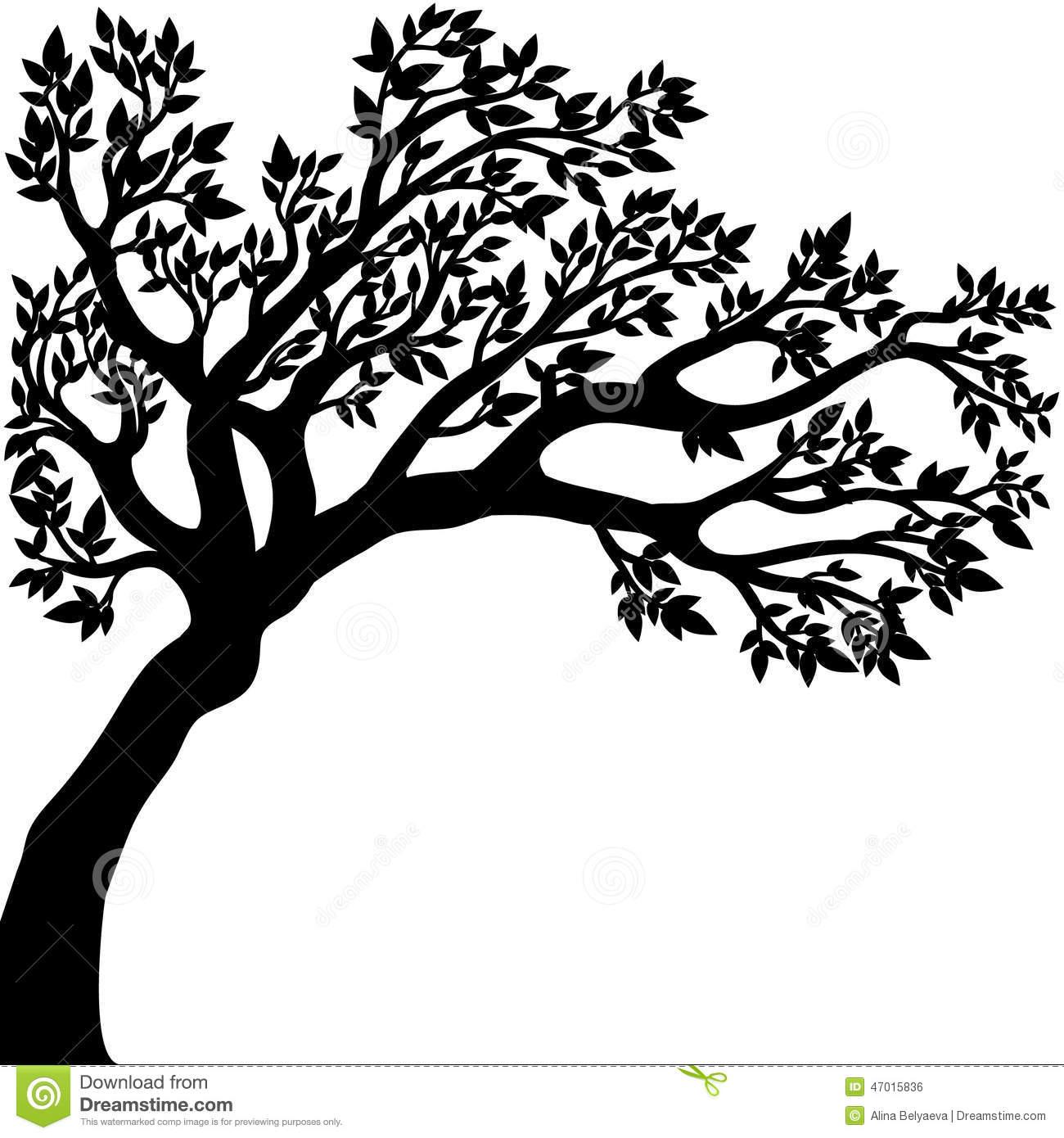1300x1390 Oak Tree Silhouette Png Tree Silhouette Png Tree 2fxum6 Clipart