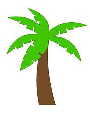 311x400 Palm Tree Silhouette Clip Art. Download Free Versions Of The Image