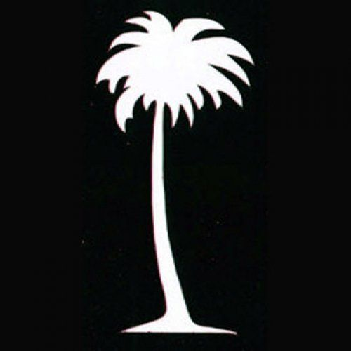 500x500 Snazaroo Face Paint Stencils Palm Tree Toys Silhouettes