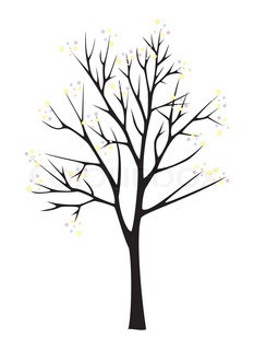 How To Paint A Tree Silhouette