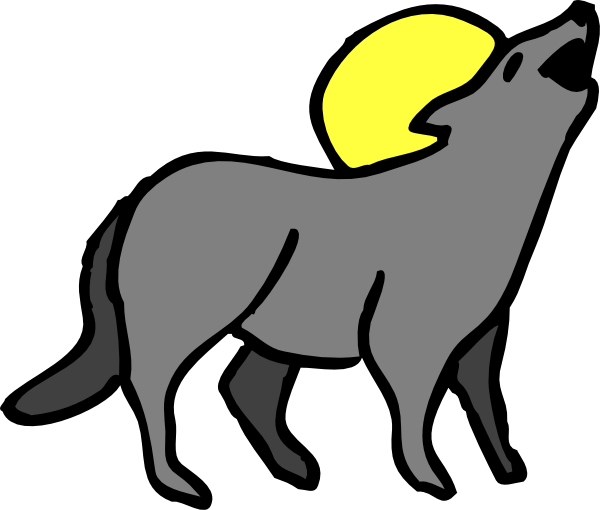 600x510 Howling Coyote Png, Svg Clip Art For Web