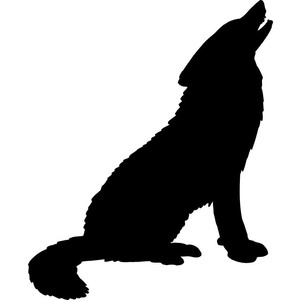 300x300 Wolf Clipart Wolf Howling