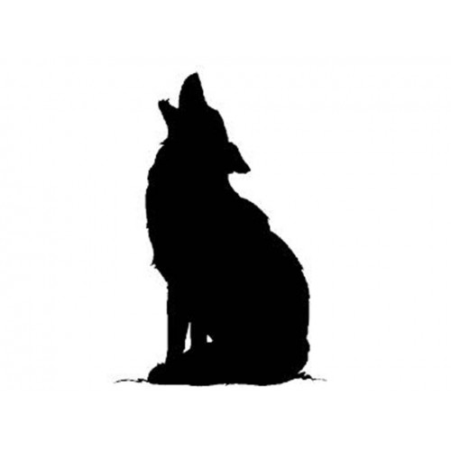 500x500 Howling Dog