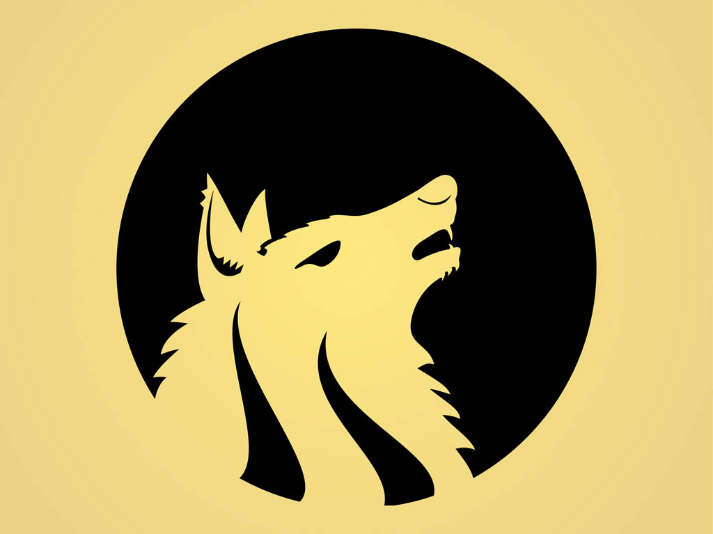 1024x767 Howling Wolf