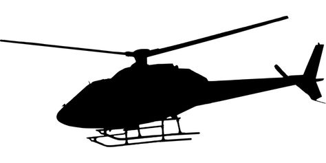 Huey Helicopter Silhouette At Getdrawings Com Free For