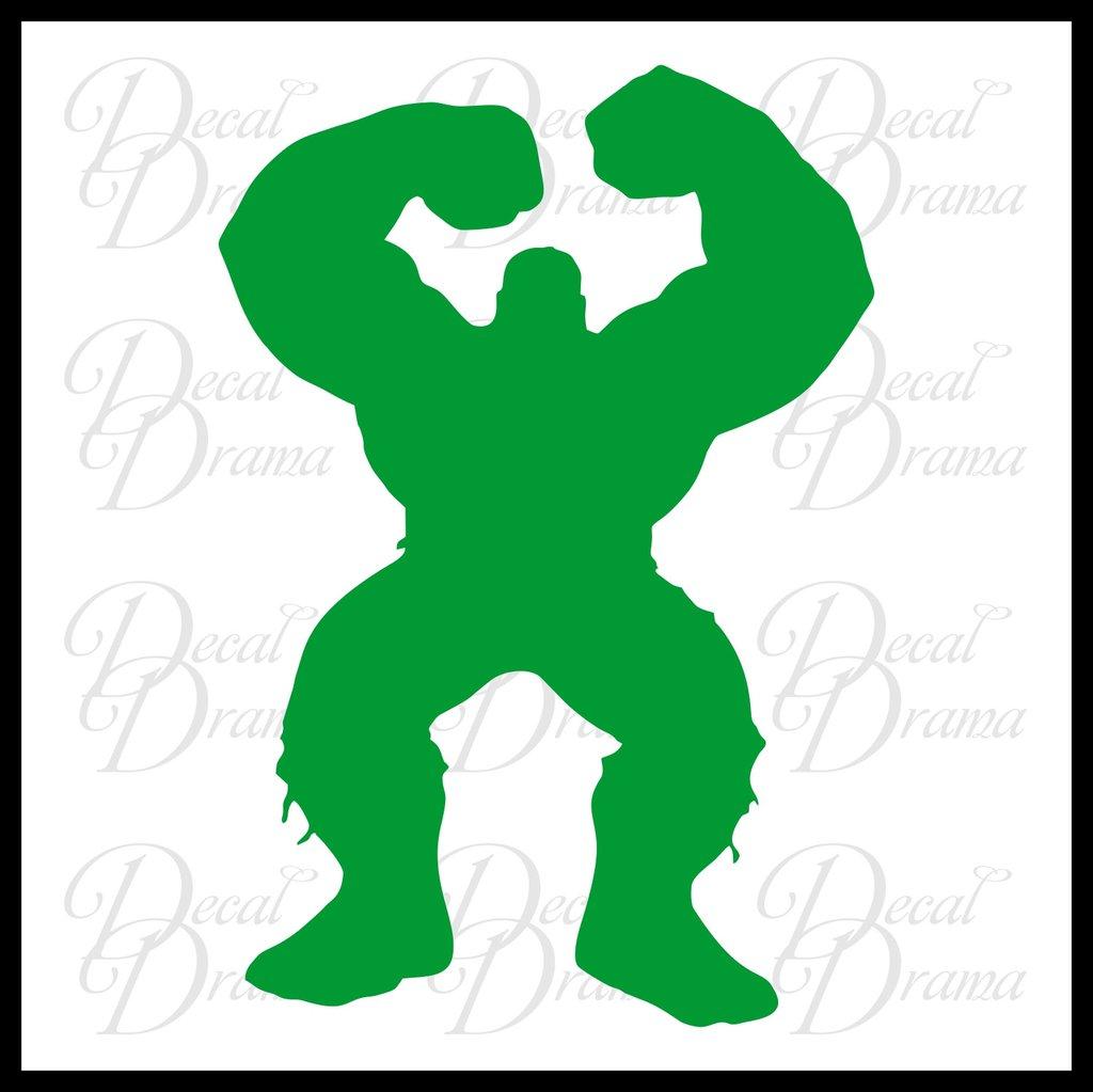 1024x1023 Hulk Full Body Silhouette, Marvel Comics Avengers, Vinyl Car