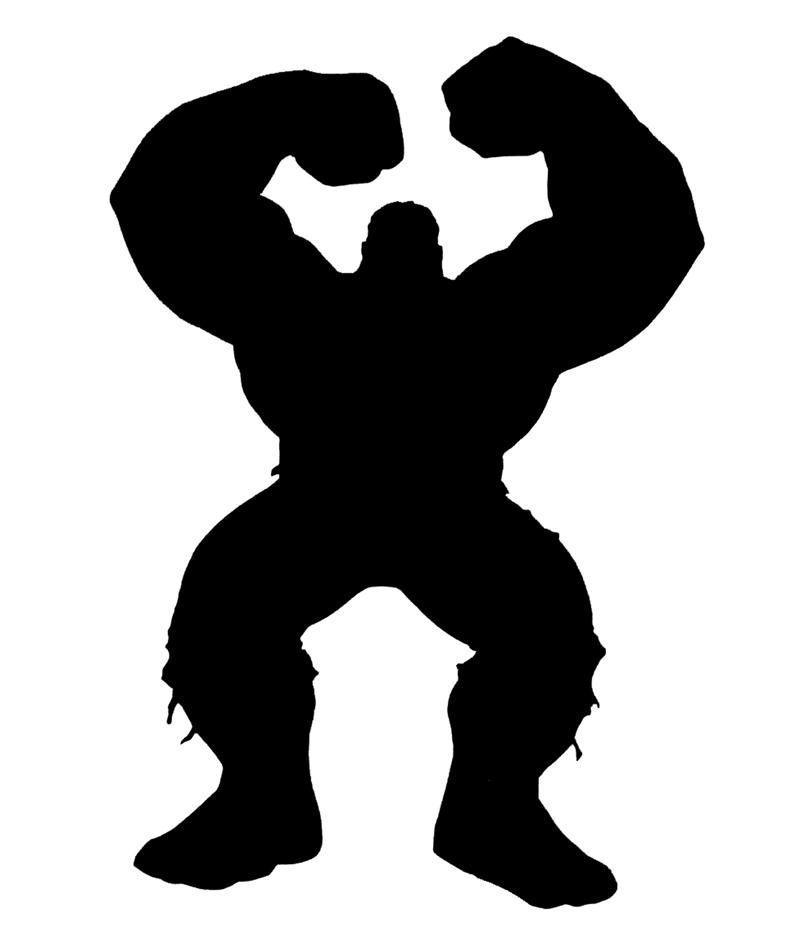 800x933 Hulk Silhouette Taller Silhouette, Cricut