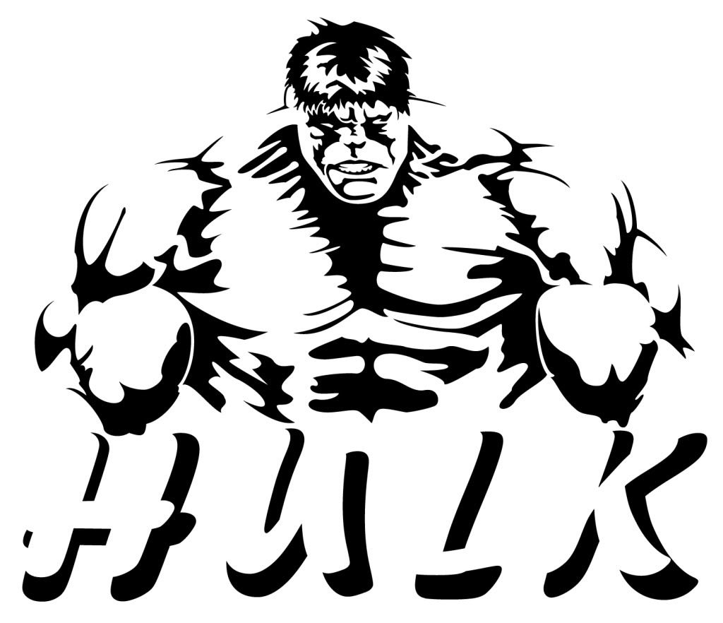 hulk silhouette at getdrawings com free for personal use Superhero Clip Art Black and White Superhero Clip Art Black and White