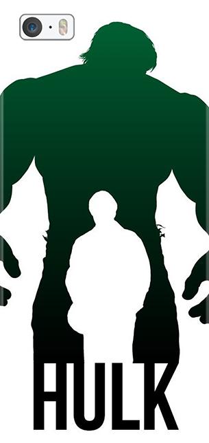 305x644 Incredible Hulk, The Avengers, Bruce Banner, Marvel, Phone Case