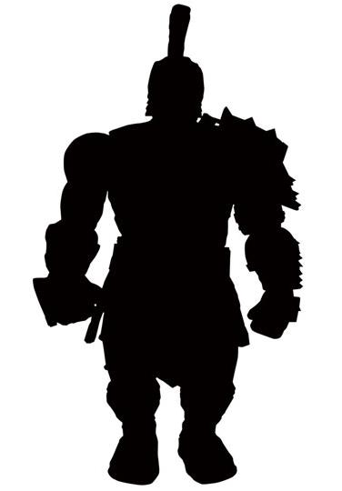 376x540 Marvel Select Gladiator Hulk Figure Silhouette