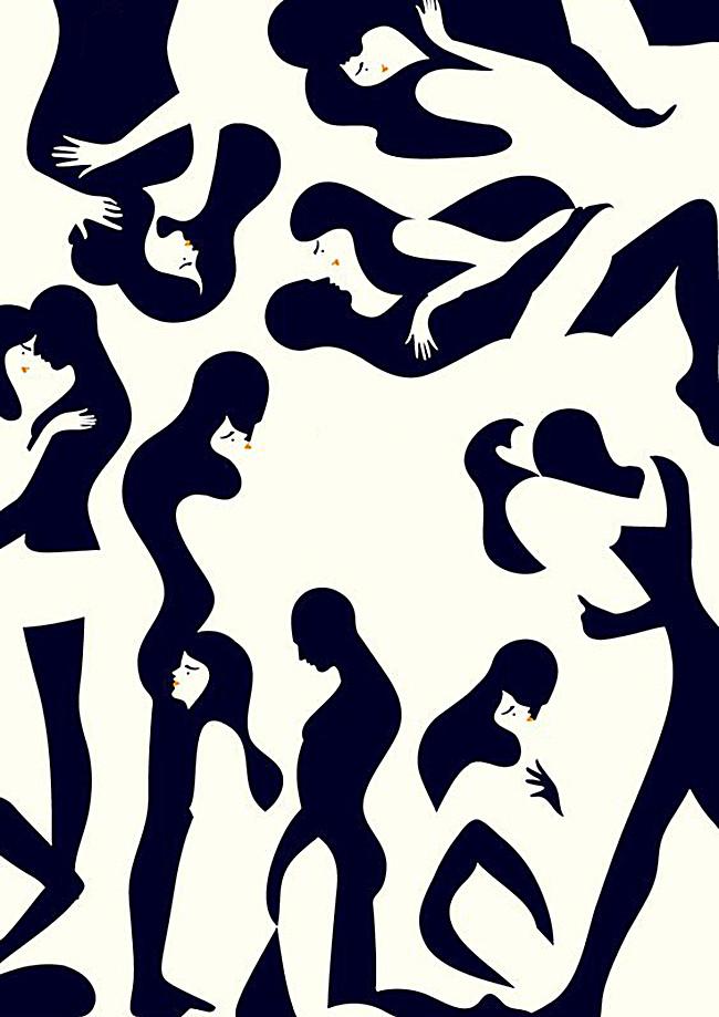 650x919 Geometric Mosaic Background Body, Human Body, Black Bars, Splice