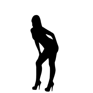 300x300 Woman Silhouette 04 Clipart, Cliparts Of Woman Silhouette 04 Free