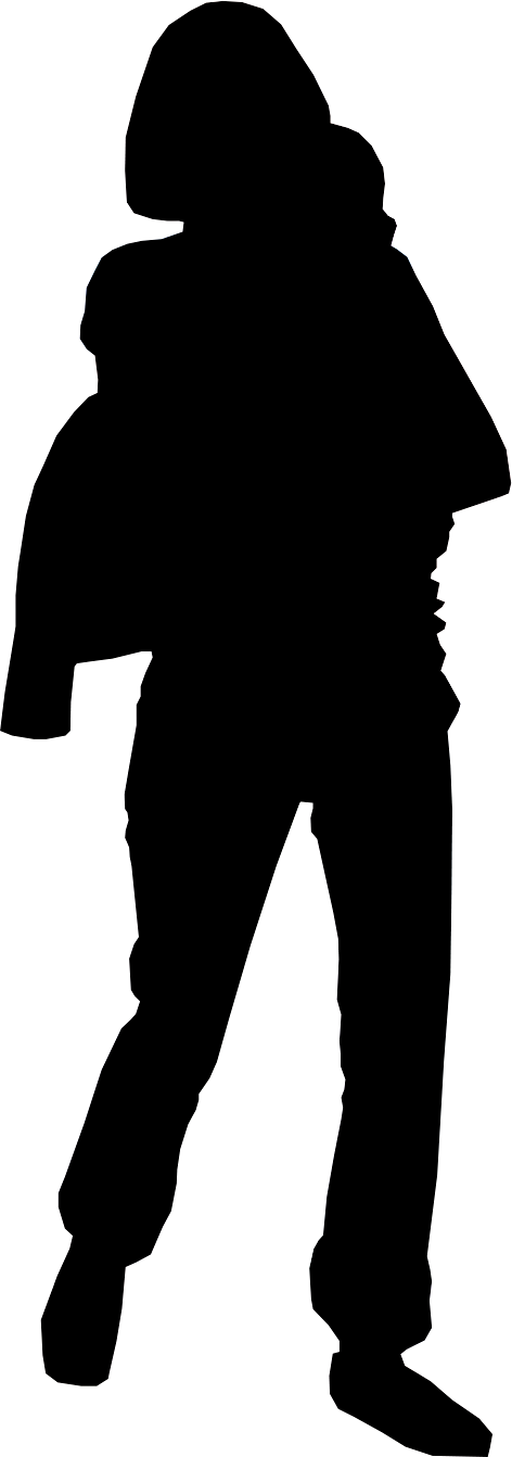 472x1342 Silhouette Of The Human Body Clipart