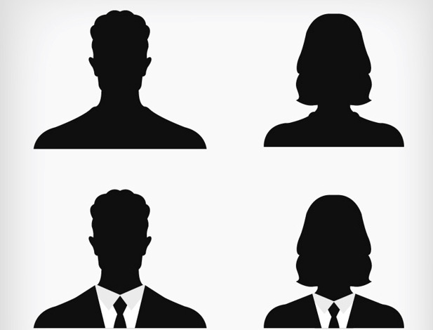 617x470 20 Free Silhouettes Vector Packs