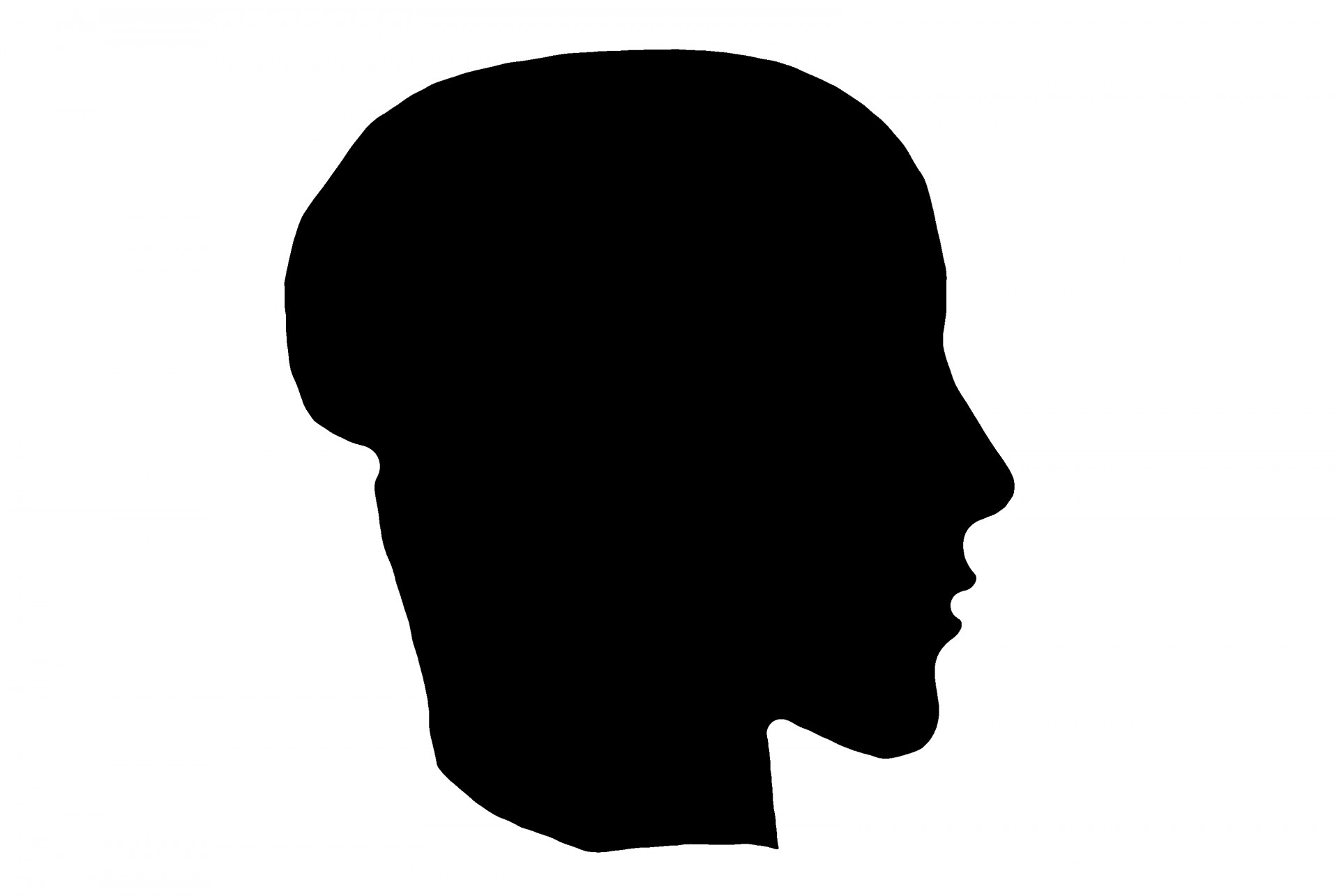 1920x1285 Human Head Silhouette Free Stock Photo