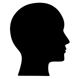 263x262 Human Head Silhouette Template Human Head