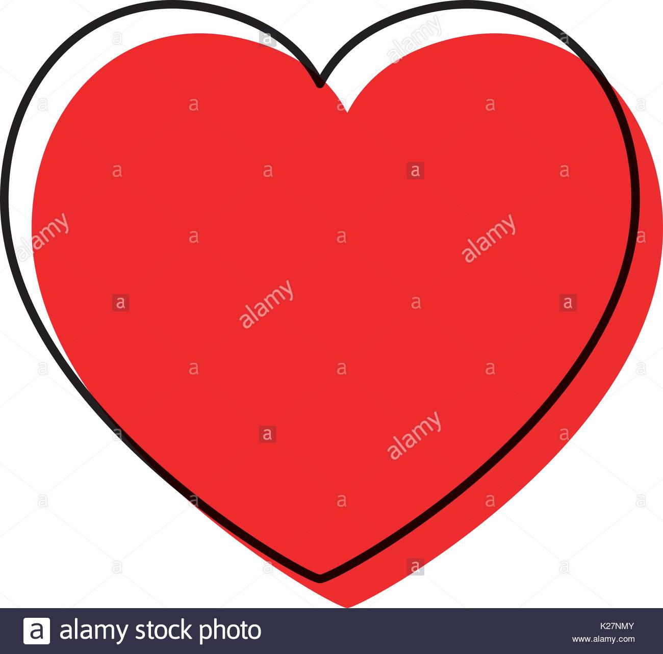 1300x1283 Watercolor Silhouette Of Heart Icon Stock Vector Art