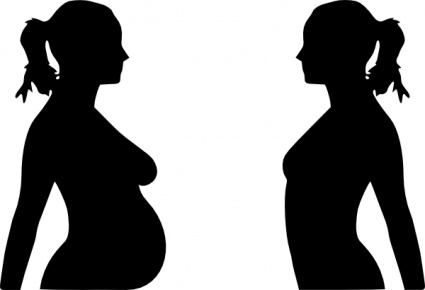 425x290 Head Hand People Profile Lady Silhouette Female Woman Girl Young