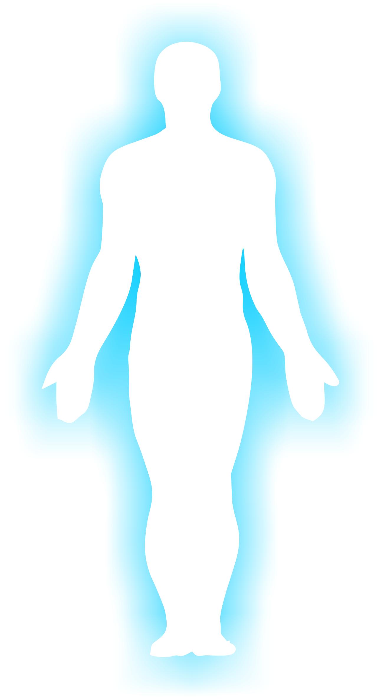 1292x2368 Human Body Silhouette Clipart
