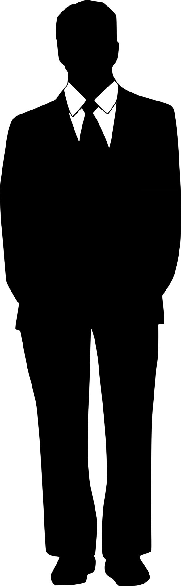 Human Silhouette Images