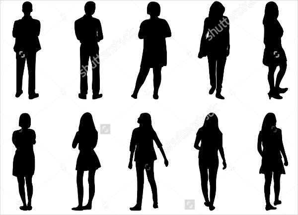 human silhouette images at getdrawings com free for personal use rh getdrawings com human silhouette vector standing human silhouette vector free download