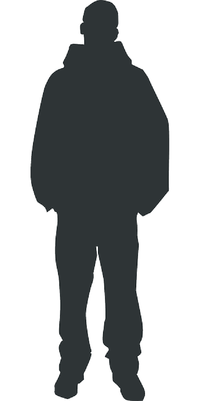 800x1600 Outline, People, Man, Silhouette, Person, Human, Body