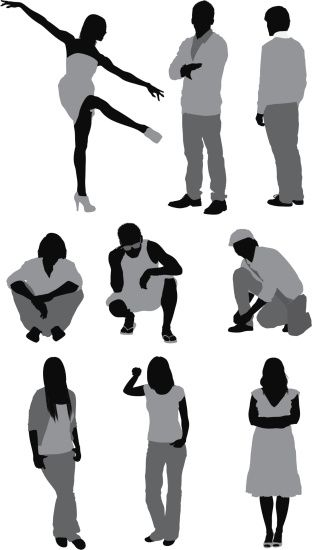 312x550 10 Best Silhouette Images On Silhouettes, Silhouette