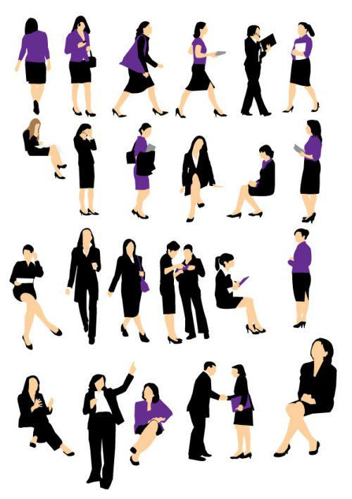 500x708 85 Free High Quality Silhouette Sets Silhouettes