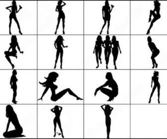 336x280 Ballet Dancer Silhouettes Brush Photoshop Brushes Photoshop