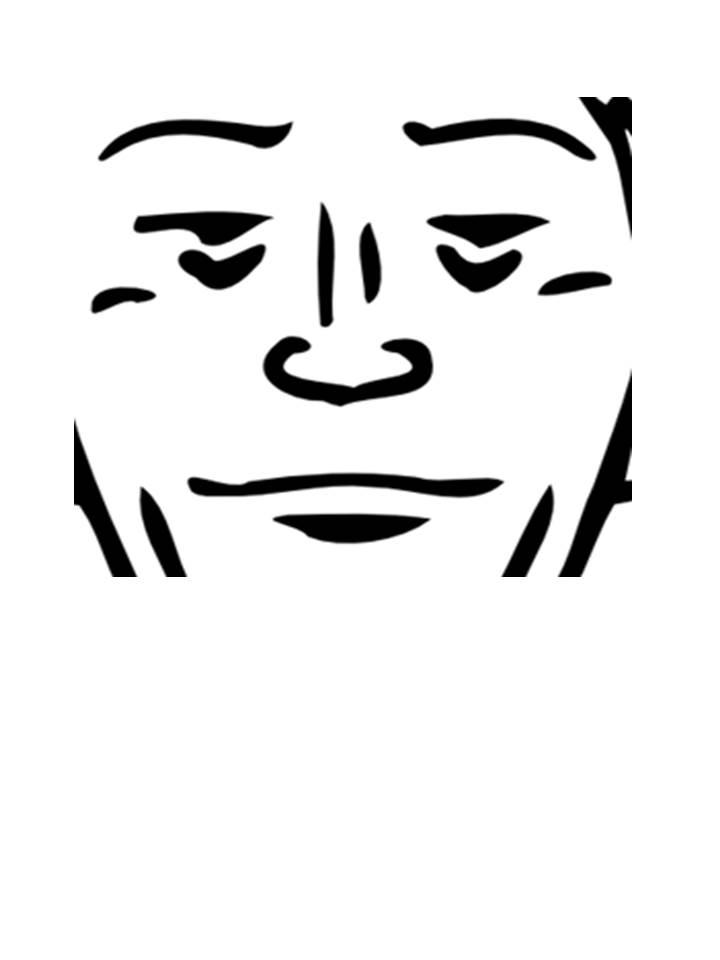 720x960 Ocular Cavity Targetface For Bob
